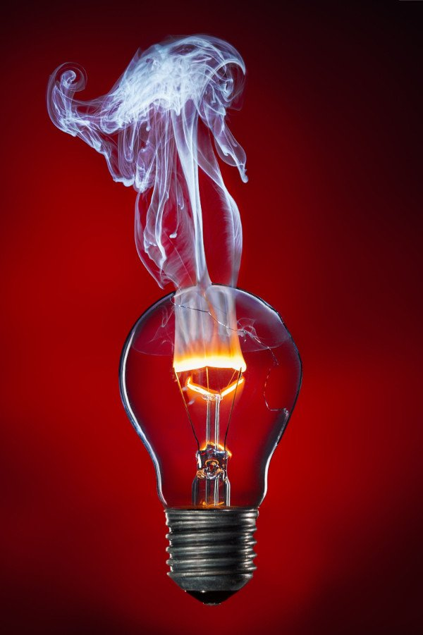 image of Broken Lightbulb