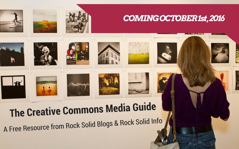 Coming Soon. The Creative Commons Media Guide
